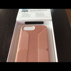 🌈Speck Pink Glitter iPhone 7/8+ Case~BRAND NEW